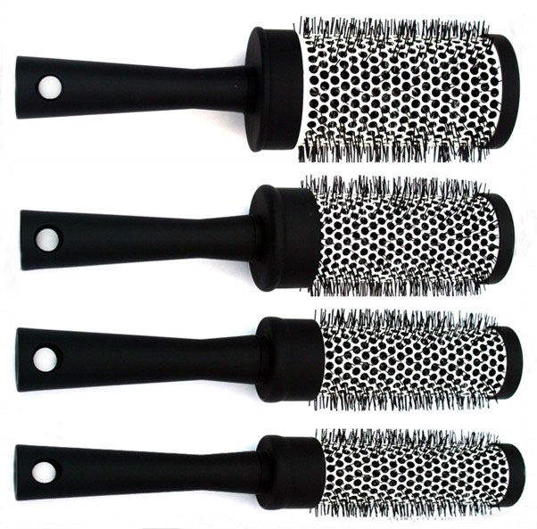 Foldable Hairbrush Round Plastic Plastic Hair Brush Manufacturing Professional Ceramic Hairbrush Round Cylinder Brush Plastic Hair Brush Ningbo Manufacturer Wholesale