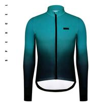 SPEXCEL The Newest  Winter Thick Thermal fleece cycling jerseys  with waterproof zipper pocket cycling clothes for Men