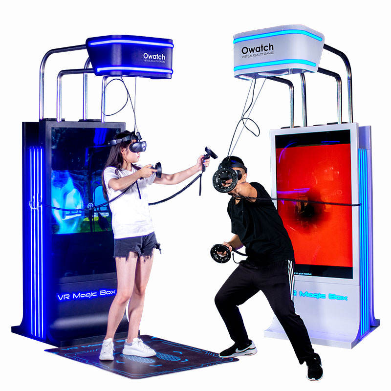 Owatch - VR Magic Box - A Fashion and Simple Affordable Gaming Machine for Steam VR Games, ideal for Any Amusement Park