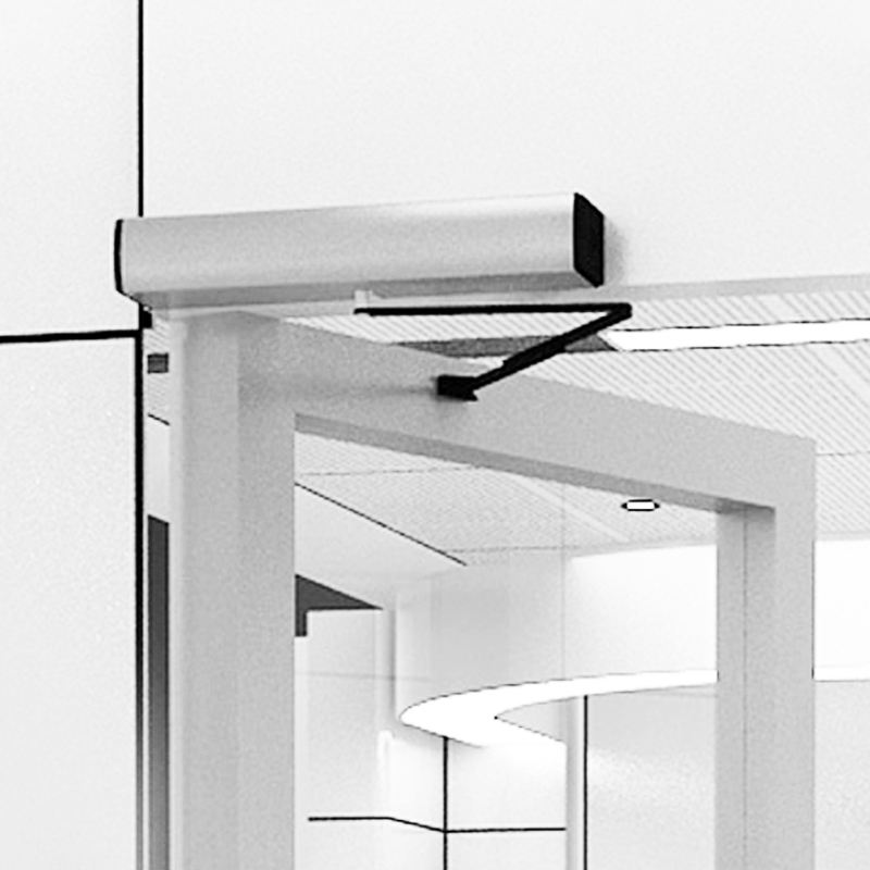Doortec sw100 auto home wood interior electric swing door opener automatic door operator