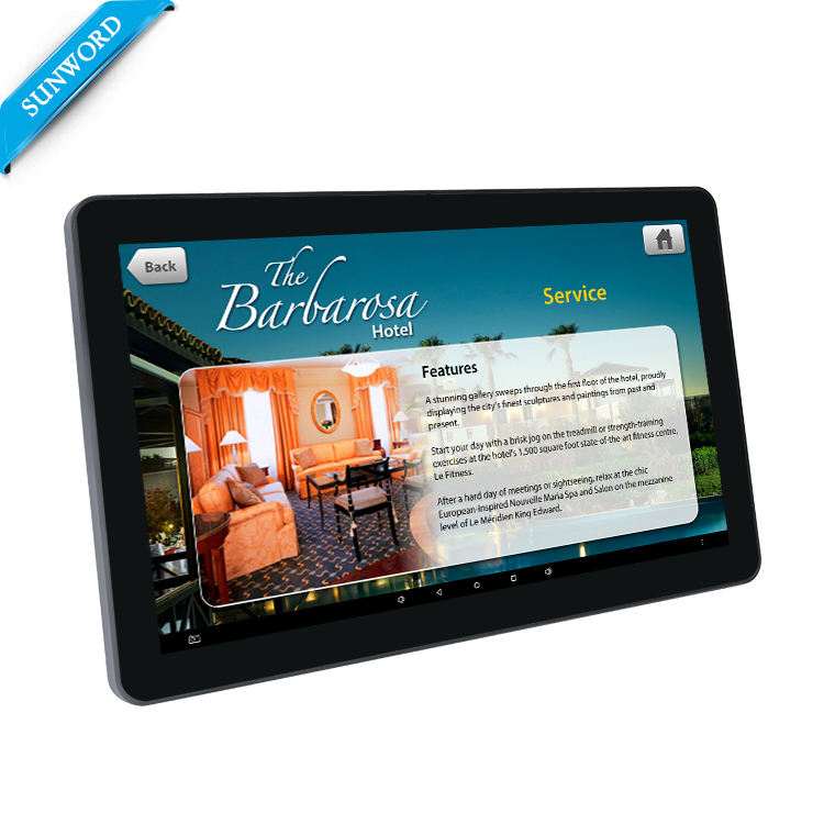 Android 6,0 LCD digital signage player, 15,6 zoll hohe qualität wand halterung touchscreen <span class=keywords><strong>werbung</strong></span> player