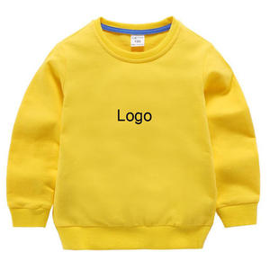 18M-8years Solid Color Kids Children Boys Casual Sweatshirt Long Sleeve T-shirt
