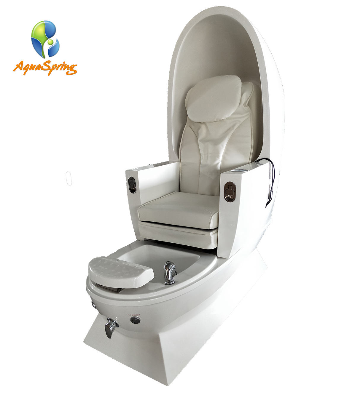 Modern tufted Foot Spa Chair Luxury Massage Beauty Salon Furniture Pedicure Chair