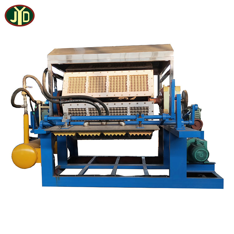 JYD Factory Price Recycle Waste Paper Box Making Egg Tray Making Machine Production Line Red Wine Holder Making Machine