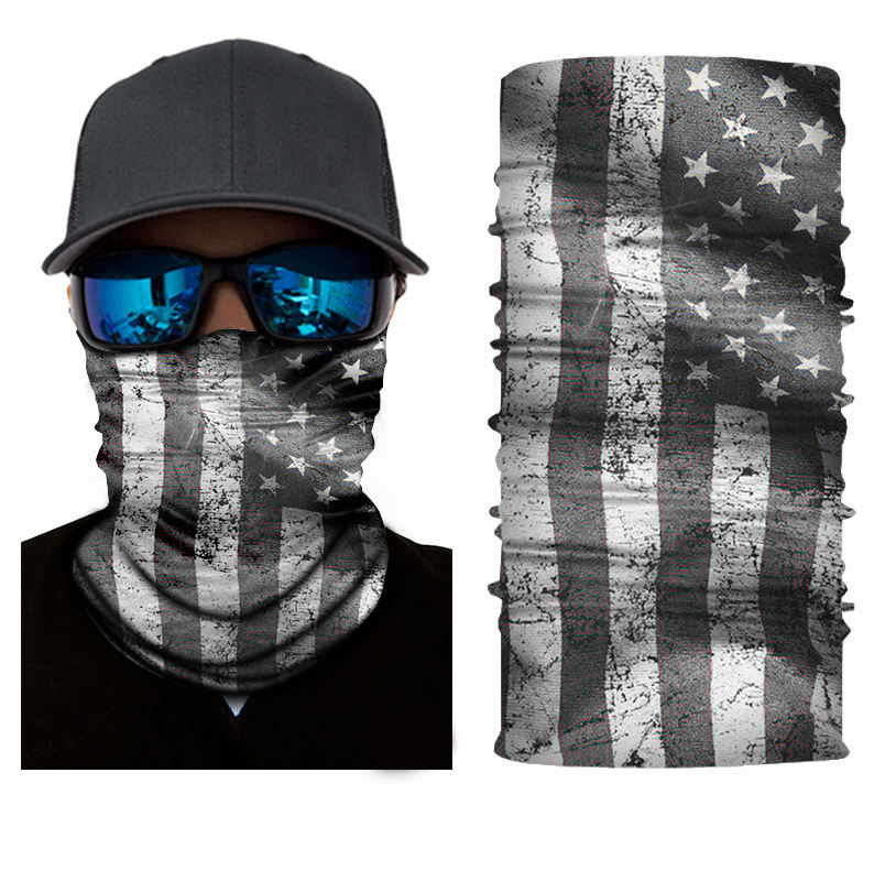Top Selling Tubular Elastic Headwear Hand Wraps Person Logo Face Keeper Bandanas