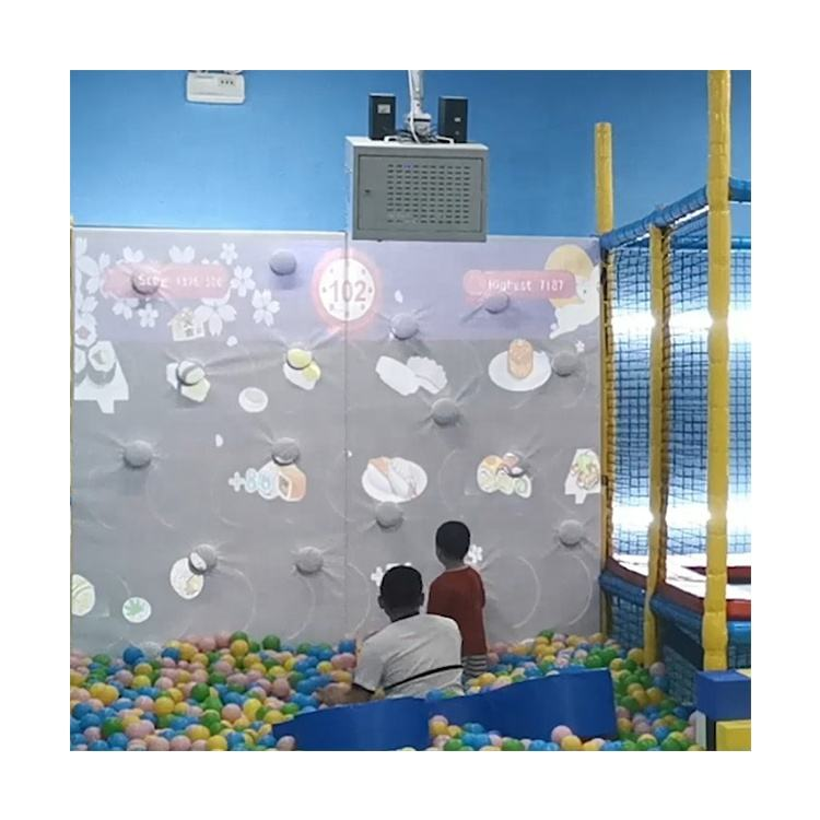 3D Interaction Throwing Ball Game Interactive Projection Wall Game with Ball Pool for Shopping Mall