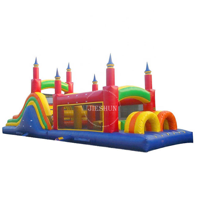 High Quality PVC Large Inflatable Obstacle Course Bouncy Castle For Sale