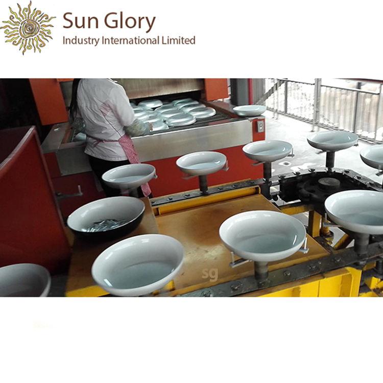 Высокое качество тефлон алюминиевые сковорода линии покрытие для антипригарным посуда
