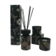 Decal printing glass reed diffuser candle set home fragrance diffuser reed stick