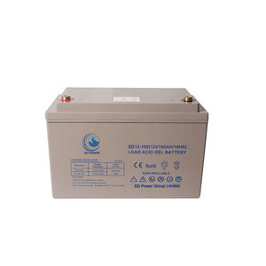 Rechargeable VRLA Storage Deep Cycle 12V 24V 100AH GEL AGM Battery for Solar System