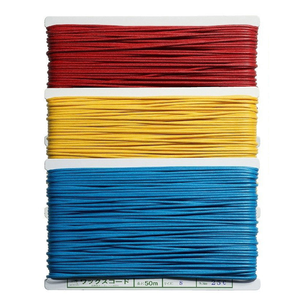 Colorful 3mm elastic cotton macrame cord elastic packaging rope