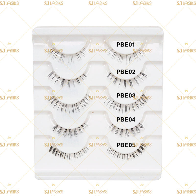 handmade high quality lower lashes factory wholesale false synthetic lashes under lashes bottom eyelash