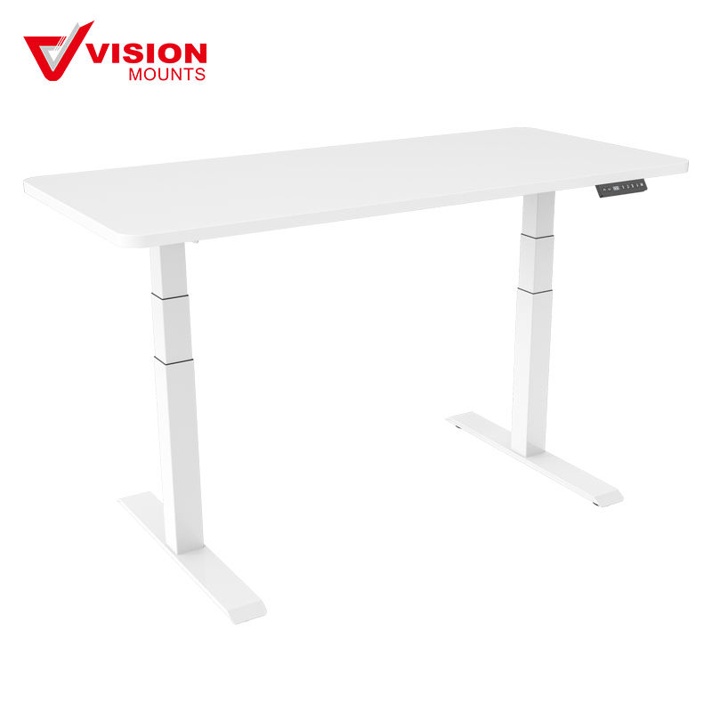 Electric Height Adjustable Office Desk Provides Standing and Sitting Postures VM-HED302