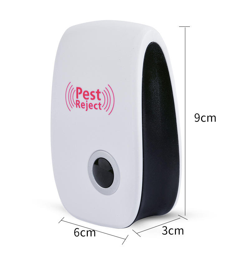 2020 High Quality Automatic Pest Reject Electronic Ultrasonic Pest Repeller Pest Control Mouse Insect Repellent