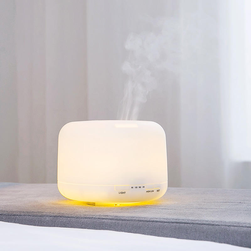 Tabletop / Portable [ Humidifier Air ] Humidifier And Diffuser Factory Direct Price 500ML Ultrasonic Humidifier Cool Mist Aorma Air Diffuser