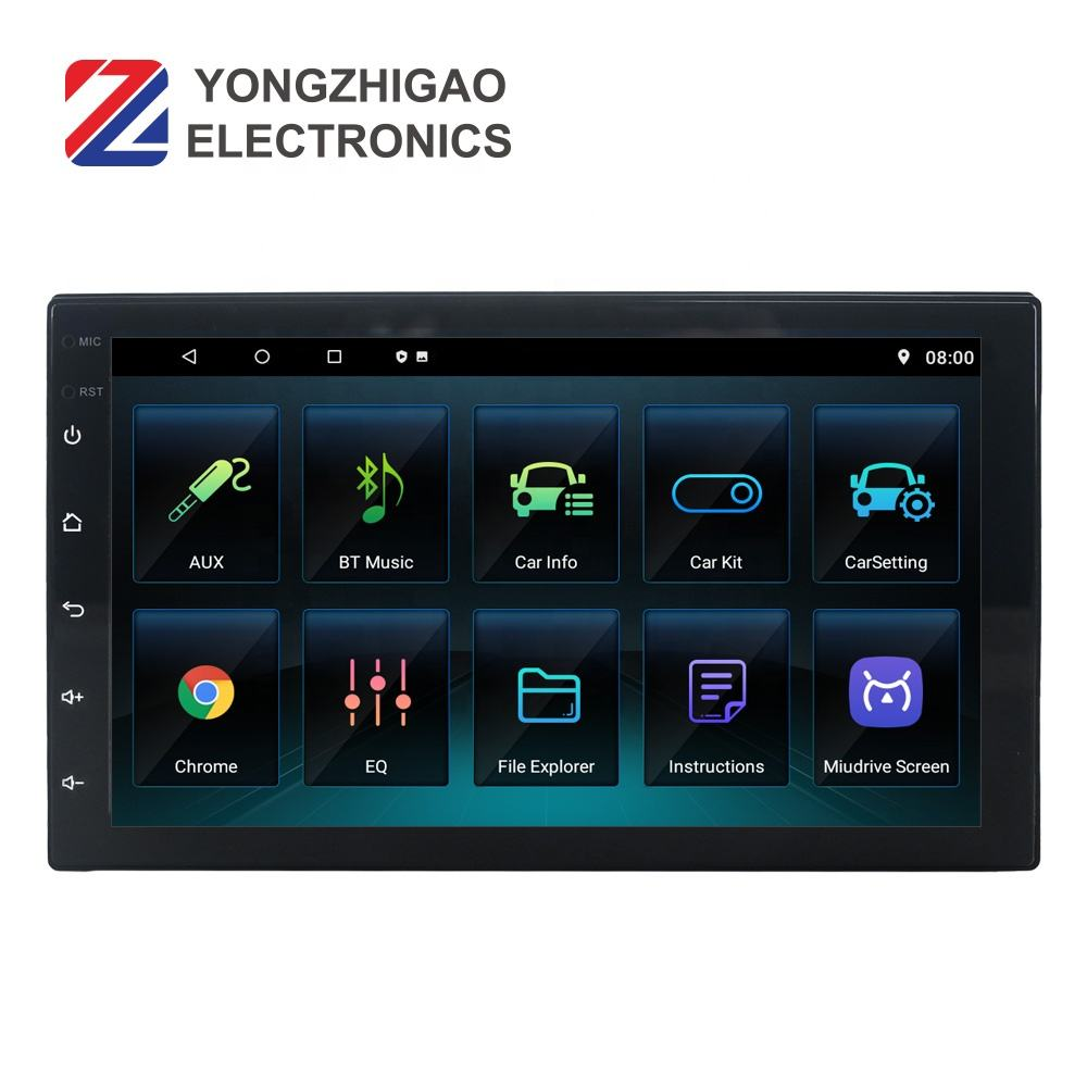 Screen Android Dvd Player Radio Gps Navigation Universal Touch for Car 7 Inch Stereo Android Car