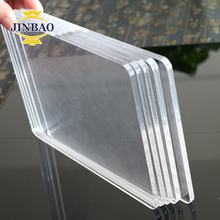 JINBAO china factory wholesale size colored high gloss  Transparent acrylic panel for light mdf