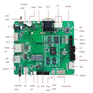 Quad core Android motherboard mit lvds ausgang, Android entwicklung bord hersteller smart controller board