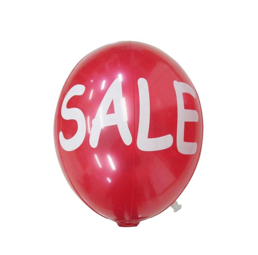 manufacturer OEM hot sales promotional air balls colors cold resistance pearl pvc oval inflatable balloon