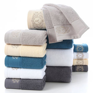 Wholesale luxury towels bath 100% cotton 3 pieces towel sets wholesale bath towels