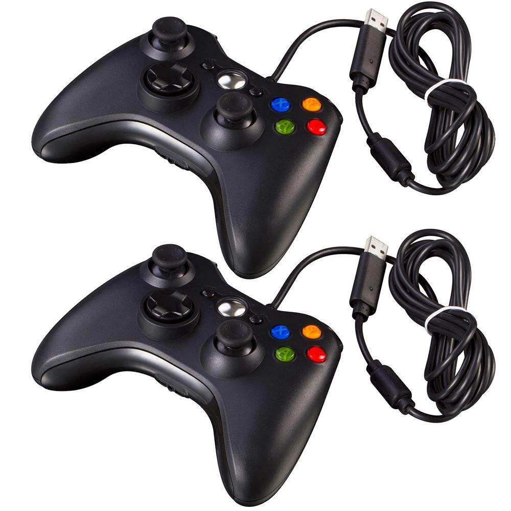 Wired USB Gamepad For Xbox 360/Slim Controller For PC Vibration Controller For Windows 7/8/10 Support for Steam Game