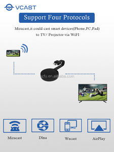 HDMI Dongle Wireless Wifi TV Mirascreen V1 Adapter 1080P for Youtube Google Chromecast TV Screen Cast Mirror