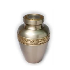 Cheap Wholesale Metal Cremation Keepsake Urns for Human Pets Funeral