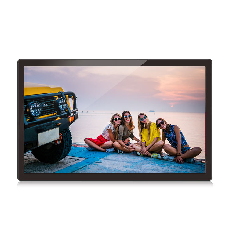 Large indoor 21.5 inch HD Digital Picture Frame Photo 1920*1080 Display Power Adapter