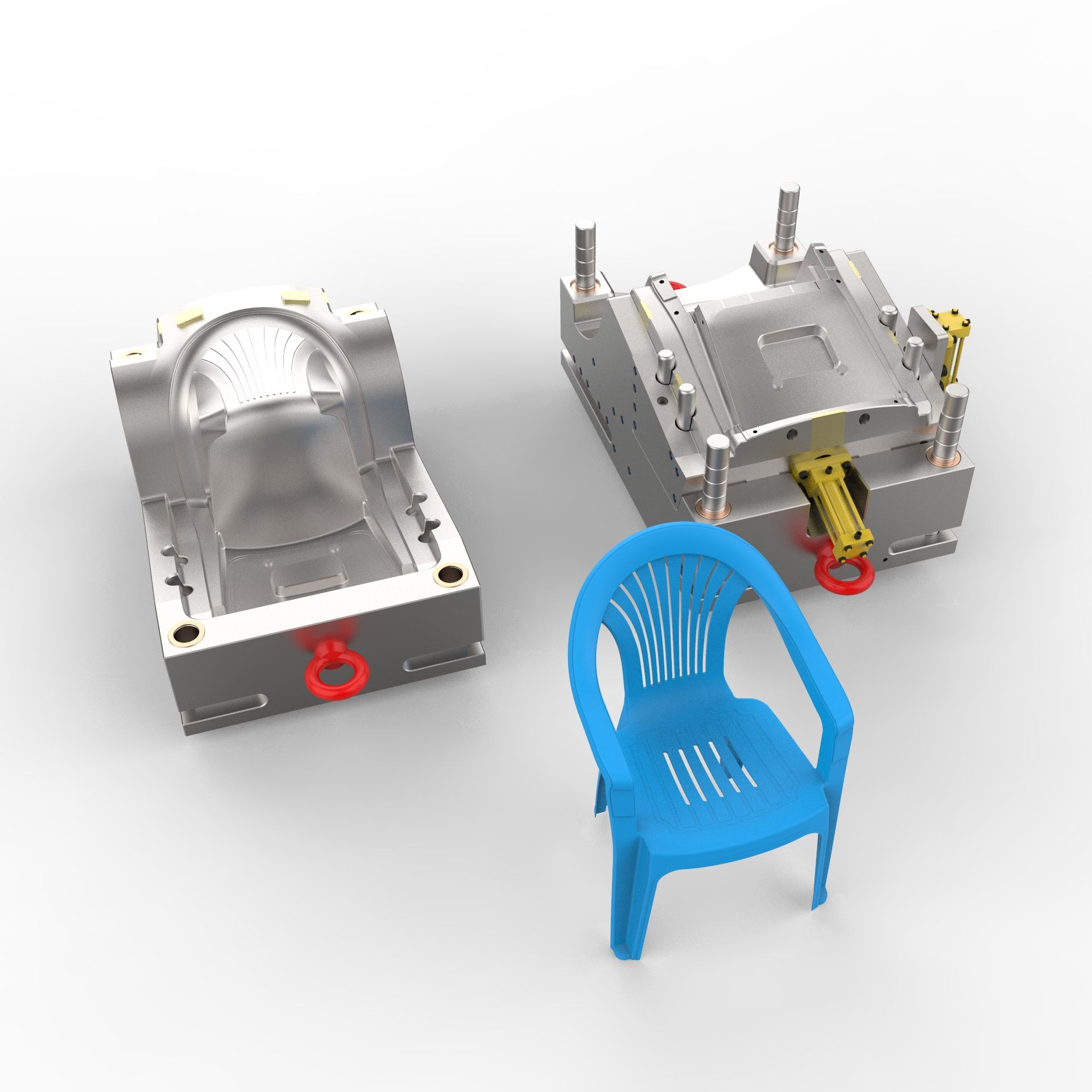 Plastic Injection Chair Mold