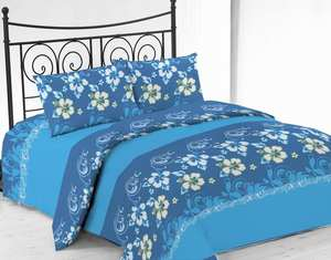 wholesale cheap printed microfiber twin full queen king bed sheet bed sets