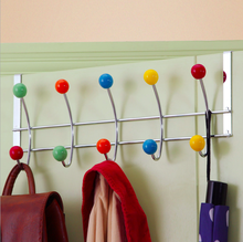 Custom creative bathroom accessories bedroom entrance coat rack on door hook