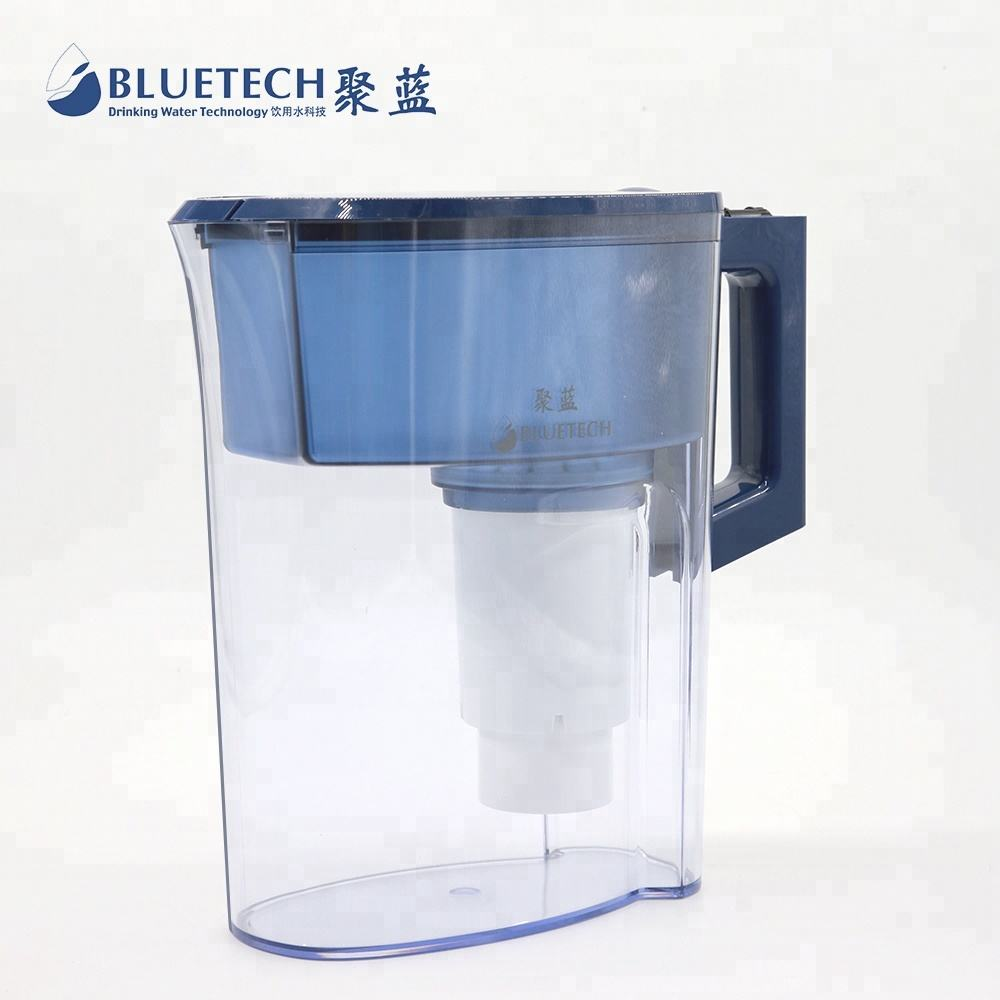 Household BPA free Hydrogen Alkaline water filter pitcher Water Ionizer For Direct Drinking