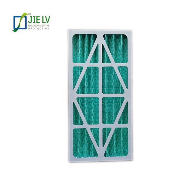 Merv 8 11 Cardboard Frame Panel Pre Air Filter for industry