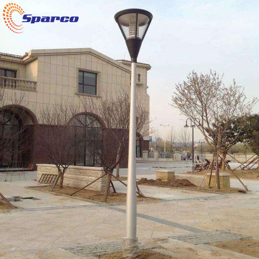 Sparco Aluminum/Stainless steel/Hot Dip Galvanized Steel light pole Decor garden light pole design double arm light pole