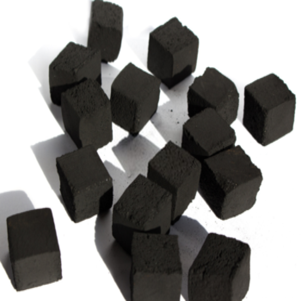 Best Seller Black Square Cube High Quality Vietnamese special Coconut shell hookah charcoal