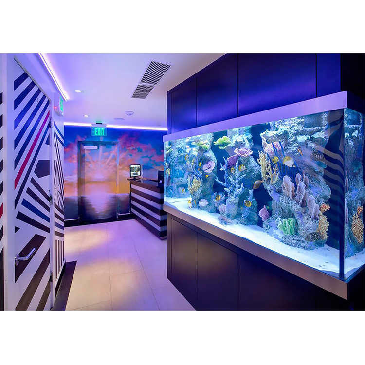 High Quality Glass Material Decorative Acrylic Fish Aquarium Glass Tank For Fish