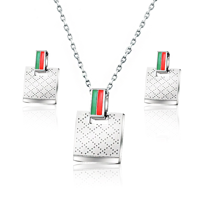 BAOYAN Italian Luxury Brand Jewelry Stainless Steel Costume Jewelry Sets