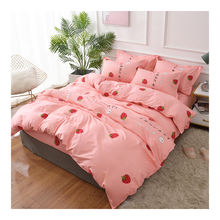 Newly designed  Brush fabric POLYESTER bed sheet sets