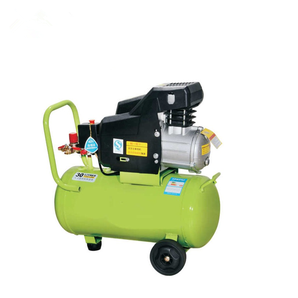 High Quantity 3HP 250L/min Piston Type Portable Direct Driven Air-compressor With Two Heads