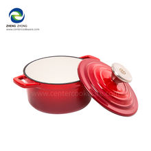 stew pot color cookware set ceramic soup pot chinese iron cookware food warmer hot pot