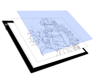 LED light pad artist a4 slim tracing light box pad LED drawing board for drawing/sketch/CT hospital