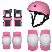 Multi Sports Cycling Bicycle Riding Protective Gear Set, Knee and Elbow Pads with Wrist Guards Toddler for baby kids
