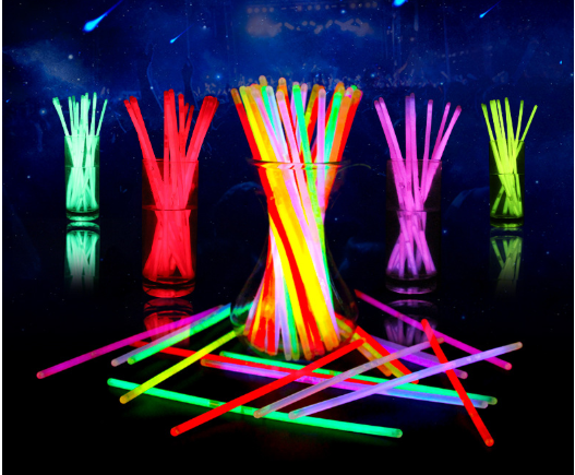 neon color birthday July 4 party favors pack light stick party pack 224pcs 8 inch bulk glow sticks bracelets with connectors