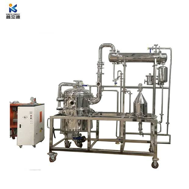 100L ätherisches öl co2 destillation eukalyptus extraktion maschine/pflanze ätherisches öl brenner in China