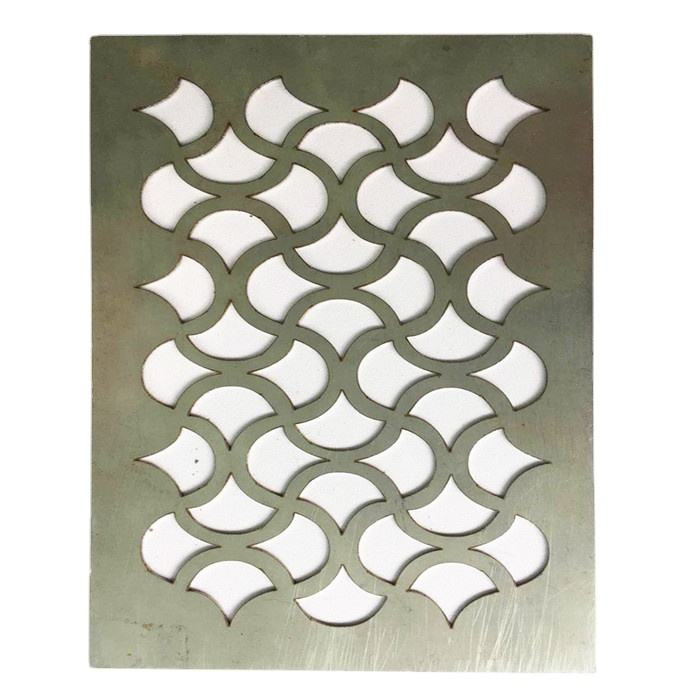 laser cutting 0.6mm thick corten steel sculpture for garden with low price