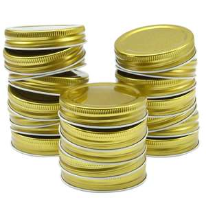 70mm Metal Mason Jar Lids 70G 450 Screw Cap for Regular Mouth Jar