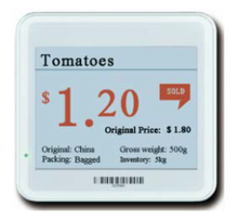ONTIME ESL electronic price tags for supermarket 4.2 inch