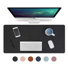 Youyue Waterproof Leather Desk Writing Pad Large Mouse Mat for Office
