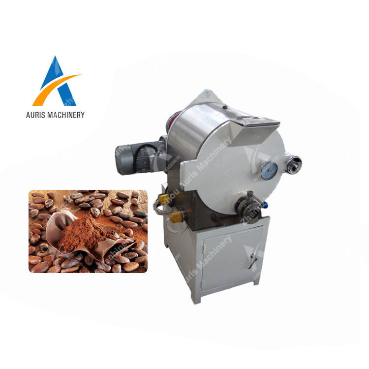 cocoa bean to butter production line chocolate conche refine chocolate mass grinding machine