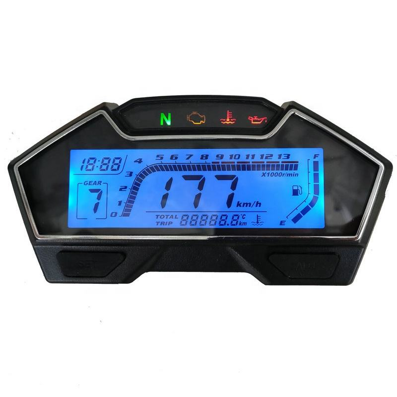 CQJB Good quality 778 electric motorcycle digital speedometer digital motorcycle meter